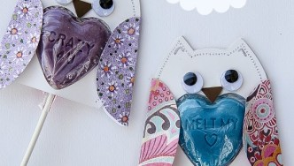 Lollipop Owls for Kids