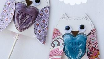 Lollipop Owls for Kids