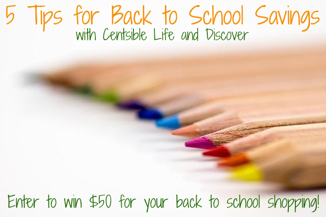 Back to School discover giveaway