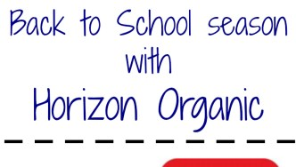 Get Kids Cooking: Back to School with Horizon Organic #HorizonB2S