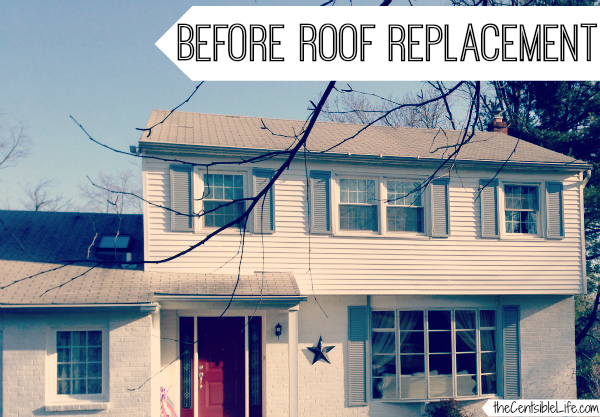 BEFORE roof replacment
