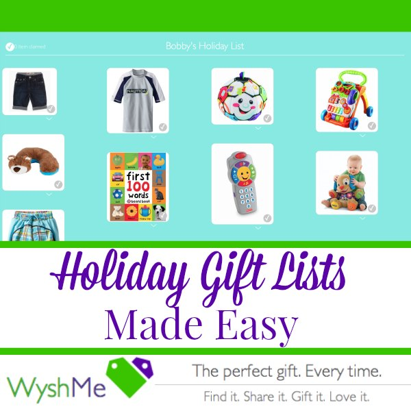 Holiday Gift Lists WyshMe
