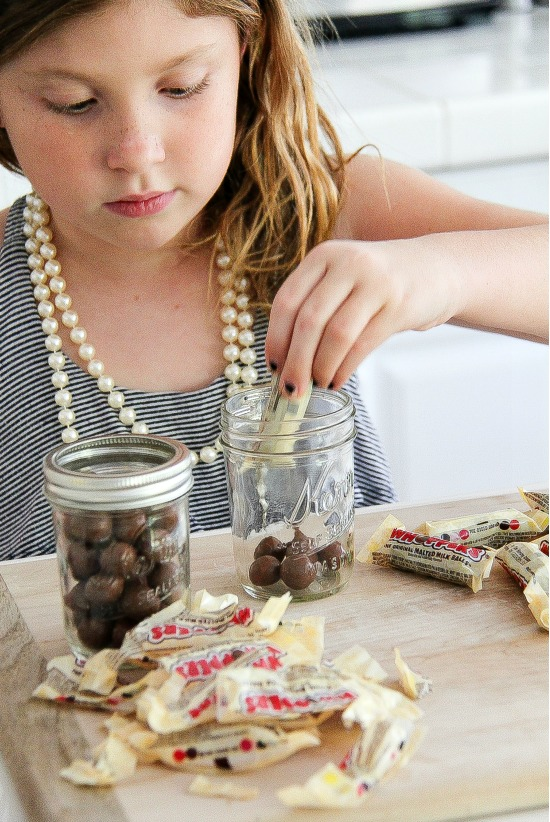 Food crafts to use leftover Halloween candy