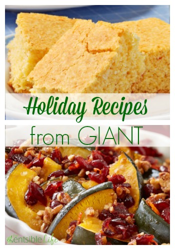 Holiday Recipes from GIANT
