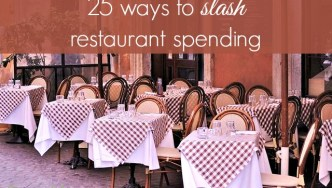 25 tips to slash your restaurant spending in half