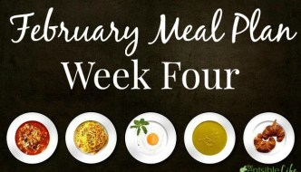 February Meal Plan: Week Four