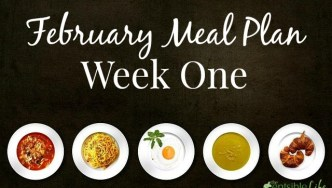 Monday Menu Plan: Week One February 2nd