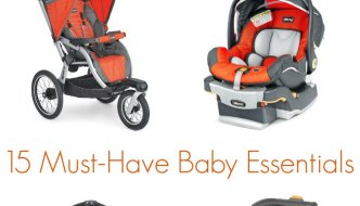 15 Essential Baby Items with Chicco