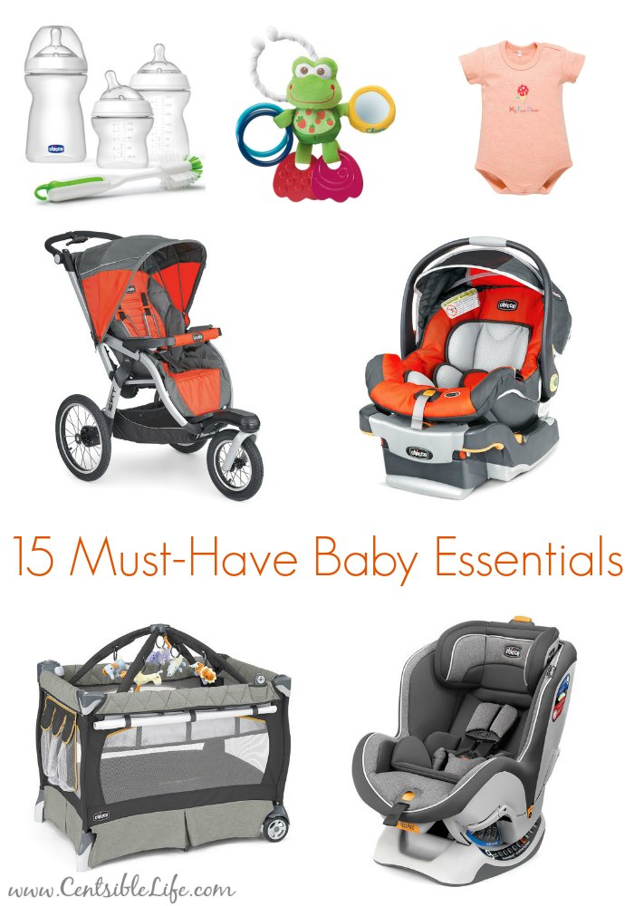 15 must-have baby essentials