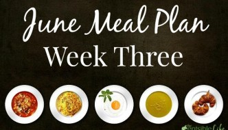 June Meal Plan: Week Three