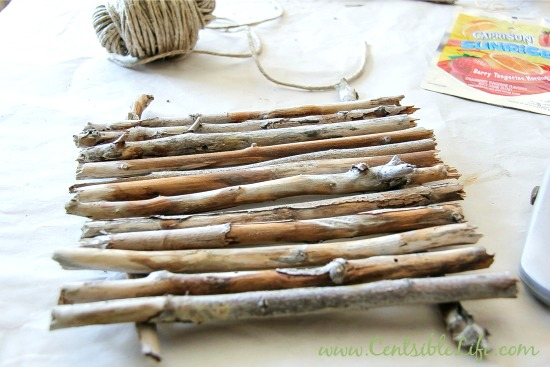how to make a raft out of sticks
