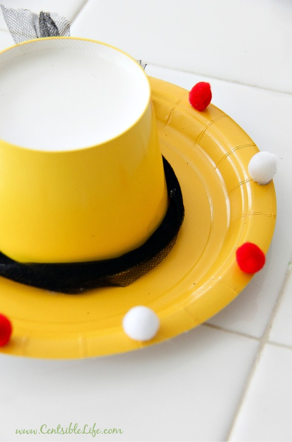 How to make a paper plate sombrero