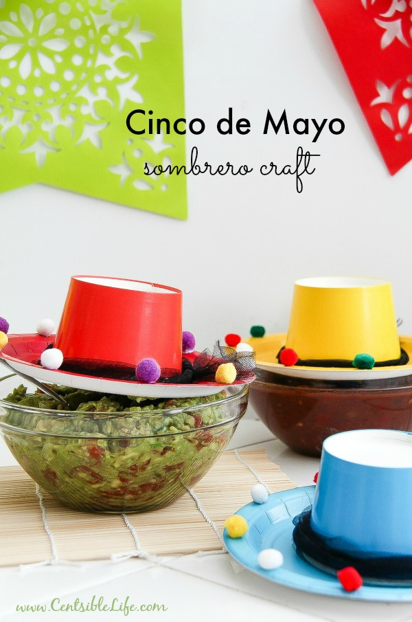 Cinco De Mayo: Sombrero Craft