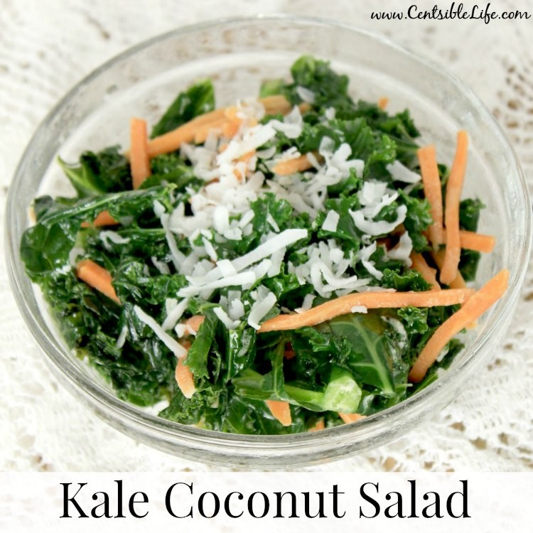 Kale Coconut Salad Recipe