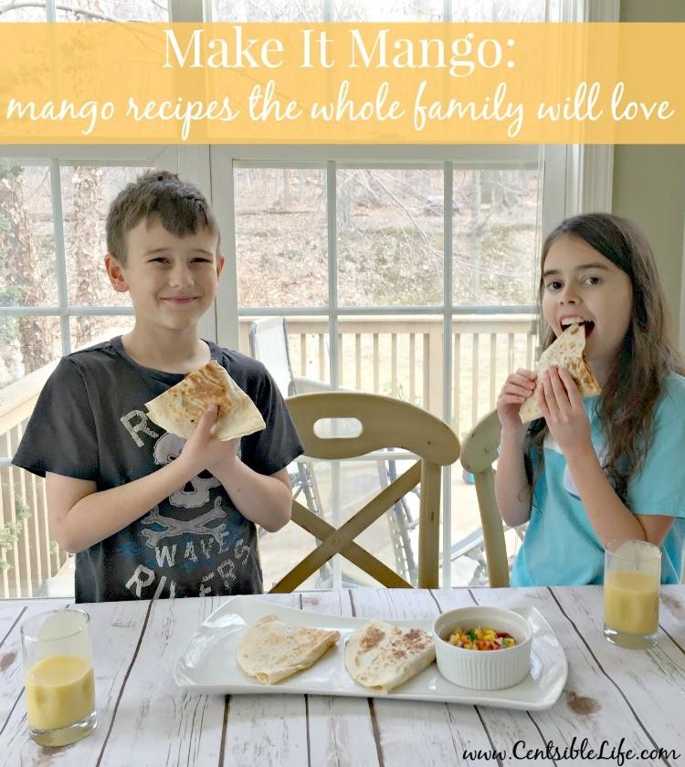 Mango recipes the whole family will love