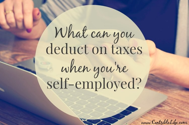 what tax deductions can you take when you're self-employed