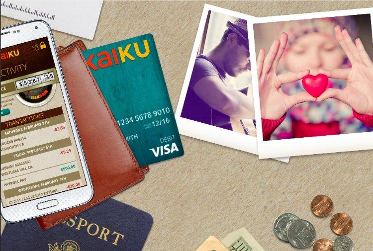Kaiku Prepaid card lifestyle