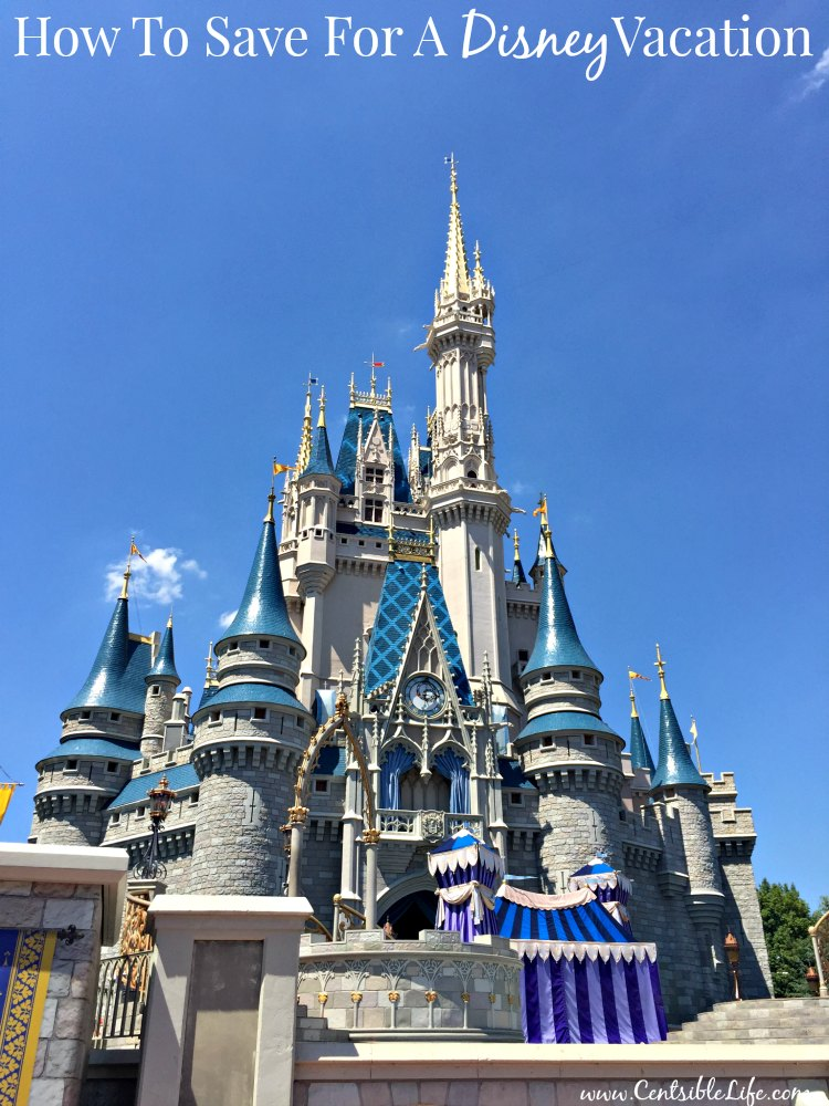 How to save for a Disney vacation