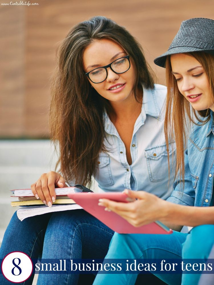 8 small business ideas for teens