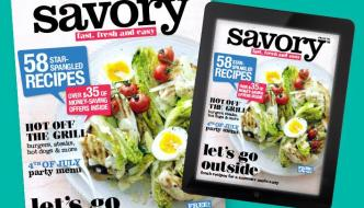Savory Magazine From GIANT