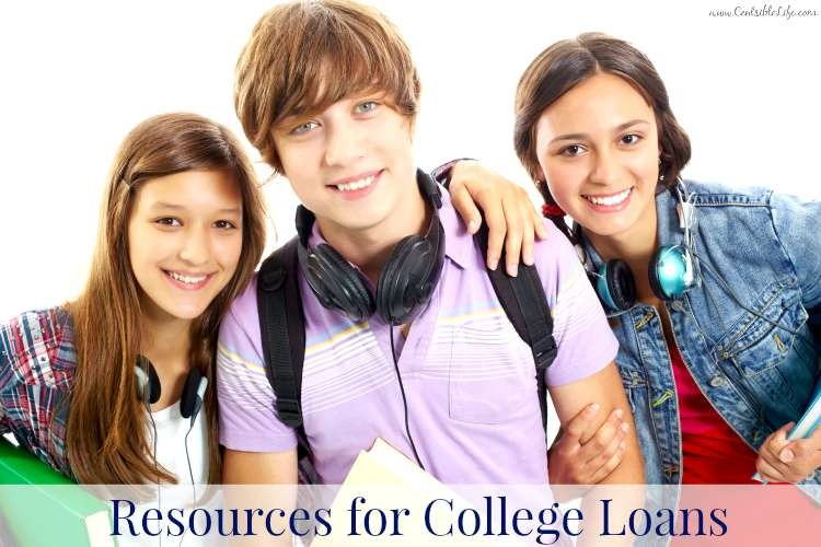 Resources for college loans