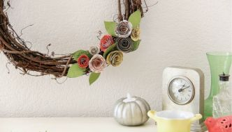 DIY Fall Wreath Under $10
