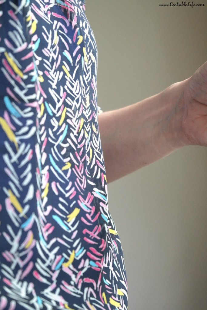 Up close Papermoon Bart Blouse StitchFix