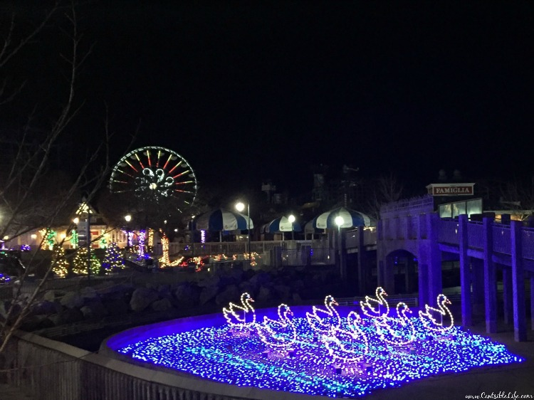 12 Days of Christmas lights Hershey Park