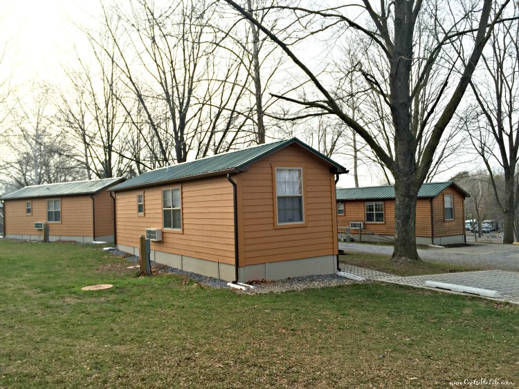 Cabins Hershey Campground outside
