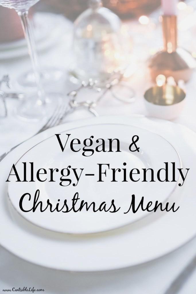 Vegan + Allergy-Friendly Christmas Menu