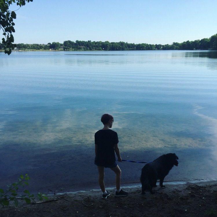 Lake walks