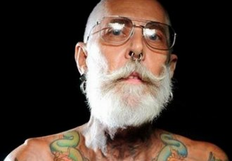 Older Man Piercings