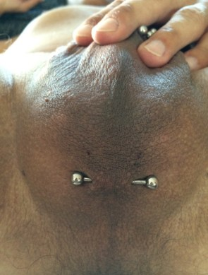 Scrotal Piercings