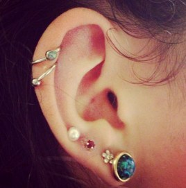Helix Ear Piercing Pain