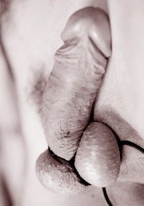 Testicle Bondage