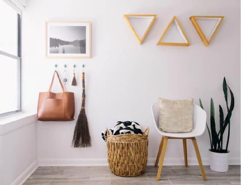 Declutter To Make Living Room Spacious