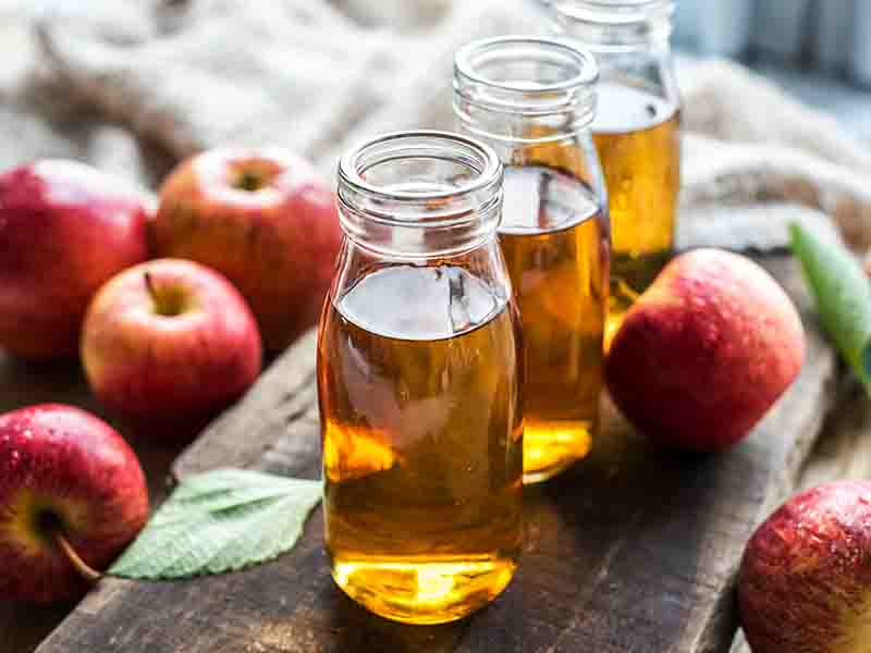 Apple Cider Vinegar To Aid Hair Growth