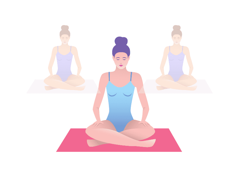 Sukhasana For Stress Relief