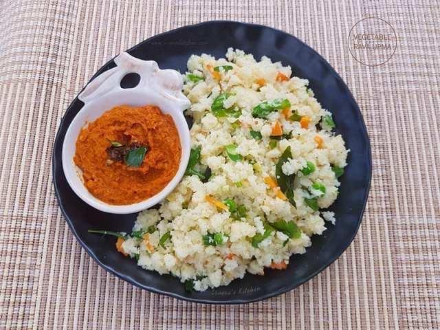Recipe For Upma