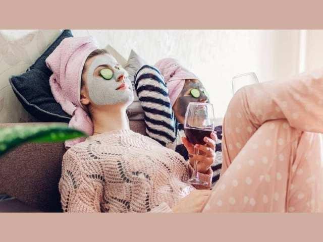 Drinking Wine Helps Your Skin Glow