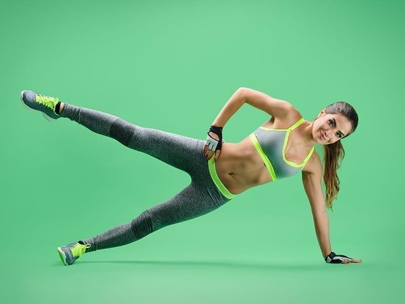 Side Leg Raises To Strengthen Knees