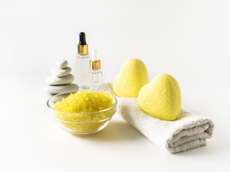 Lip Scrub With Lemon And Sugar
