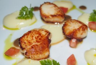 The Stockbridge Restaurant - Seared Scallops