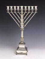 Chabad Silver Menorah