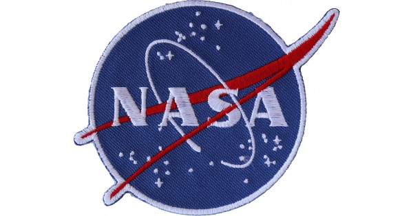 NASA logo Novelty Iron on Patch - TheCheapPlace