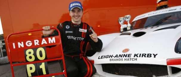 Tom Ingram - Ginetta GT Supercup G50 Champion (Photo Credit: Jakob Ebrey Photography)