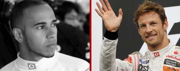 Lewis Hamilton (left) and Jenson Button - Photo Credit: Vodafone McLaren Mercedes
