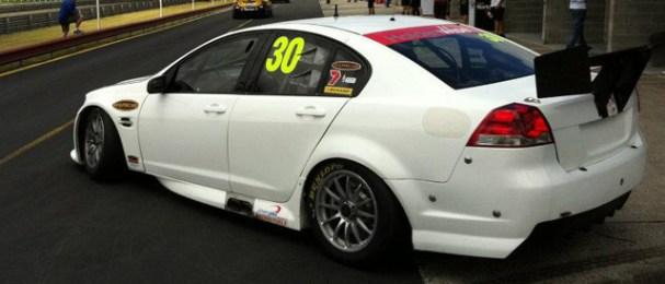 Taz Douglas heads out for pre-season testing at Sandown Photo credit: Lucas Dumbrell Motorsport