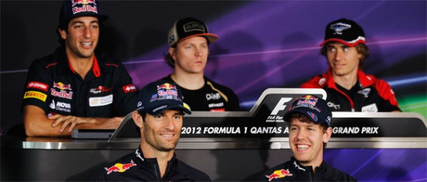 Thursday Press Conference At Melbourn - Photo: Red Bull Racing