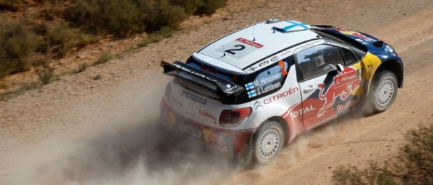 Mikko Hirvonen consolidated his lead on a calmer day in Portugal (Photo Credit: Citroen Racing Media)